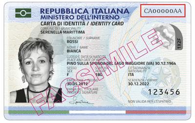 Carta di Identità Elettronica - Comune di Longobardi